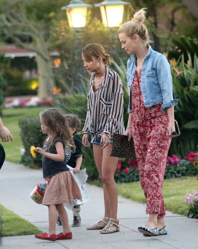Nicole Richie Gets Love From Her Little Ones at the Beverly Hilton