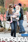 Amy Adams Goes Shoe Shopping With Little Aviana