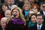 American Idol Kelly Clarkson performed at Monday's 57th presidential inauguration.