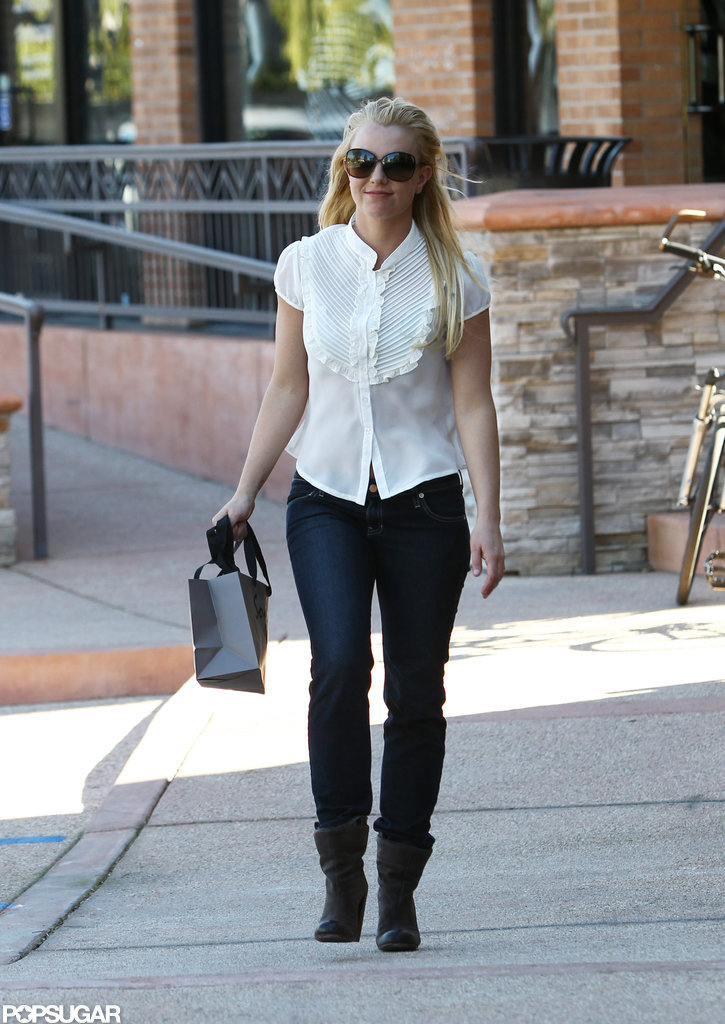 Britney Spears went shopping in LA.