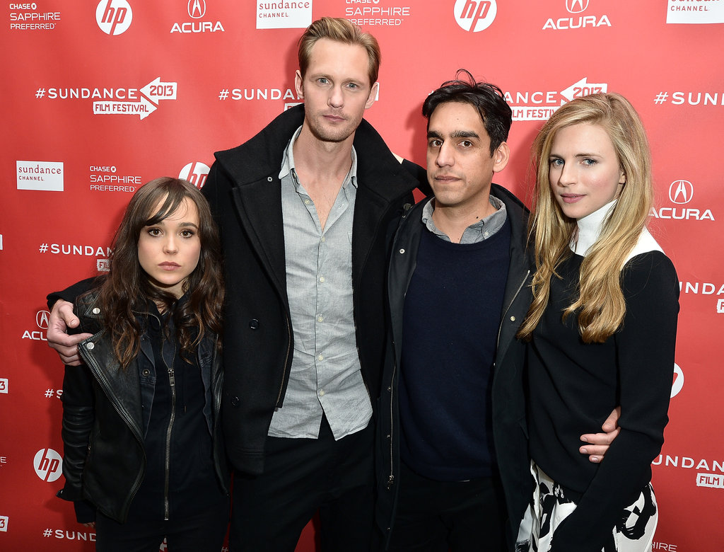 Alexander Skarsgård Cosies Up With His Co-Stars at Sundance