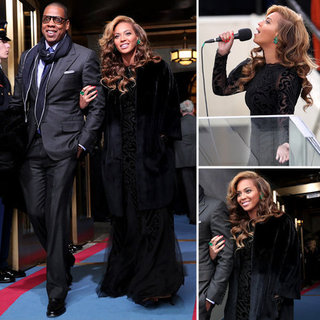 Beyonce Knowles's Inauguration Dress 2013