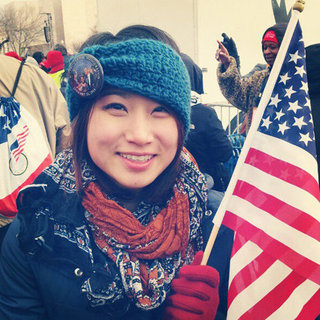 Women at the 2013 Inauguration | Instagram