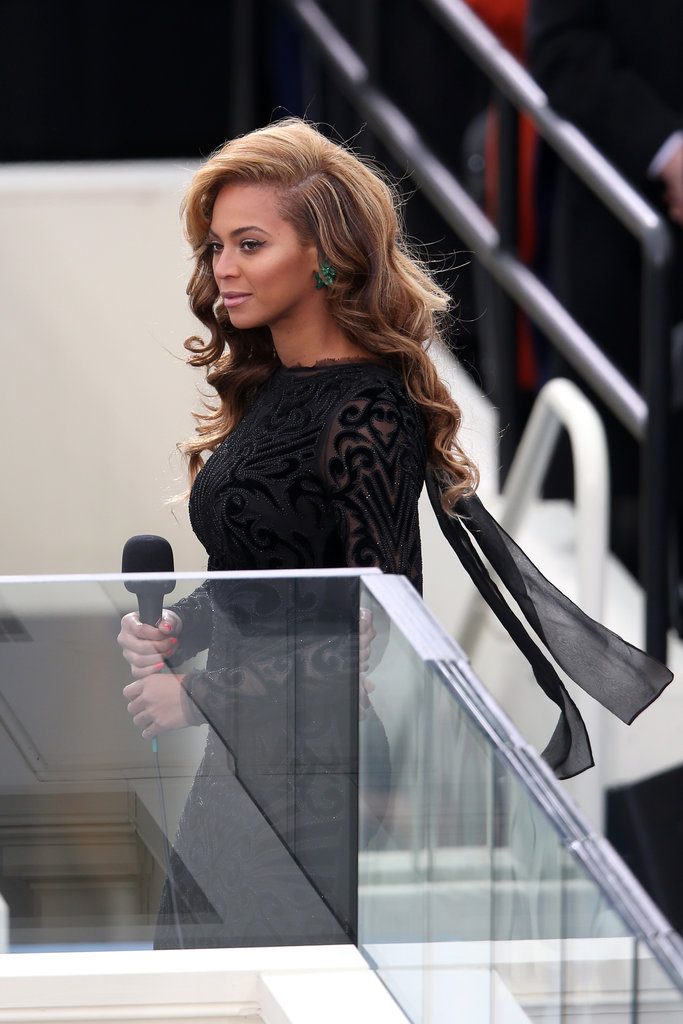 Beyoncé Knowles performed at the inauguration.
