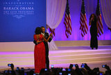 Michelle and Barack Obama had their first dance at the Commander in Chief's Inaugural Ball.