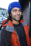 Adrian Grenier looked casually cool at Sundance.