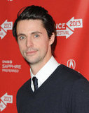 Matthew Goode looked dapper at Sundance.