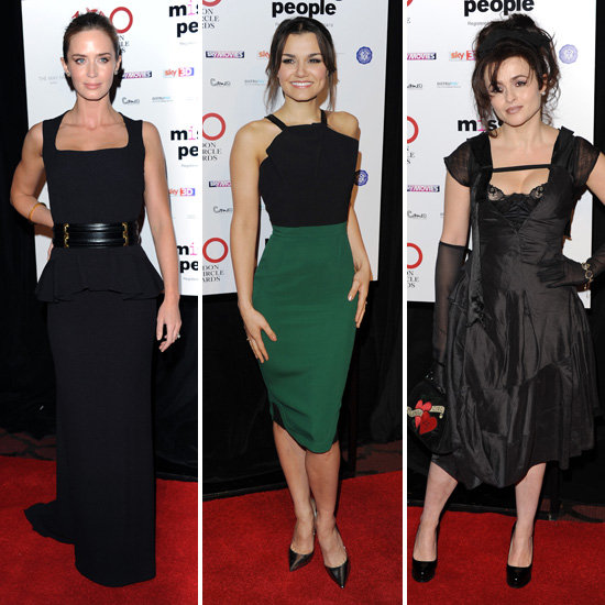 Emily, Samantha and Helena Hit London For the Critics' Circle Film Awards