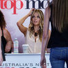 Jennifer Hawkins at Australia's Next Top Model Syd Auditions