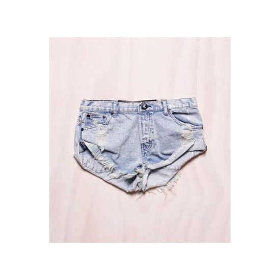 Distressed Denim Shorts from One Teaspoon