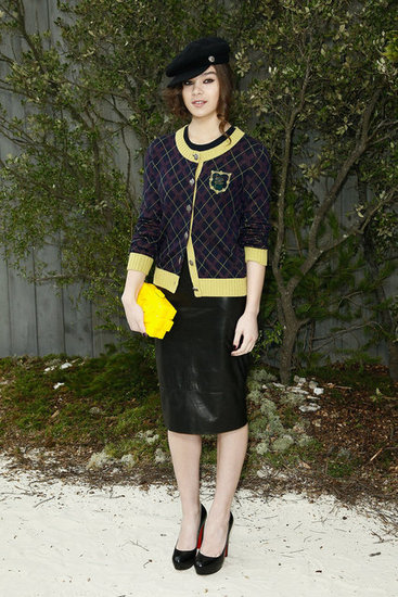 Hailee Steinfeld wore Chanel to the fashion house's Haute Couture show in Paris on Tuesday.