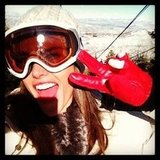 Alessandra Ambrosio hit the slopes in Park City, UT. Source: Twitter user AngelAlessandra