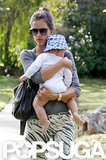 Alessandra Ambrosio Logs LA Family Time With Baby Noah