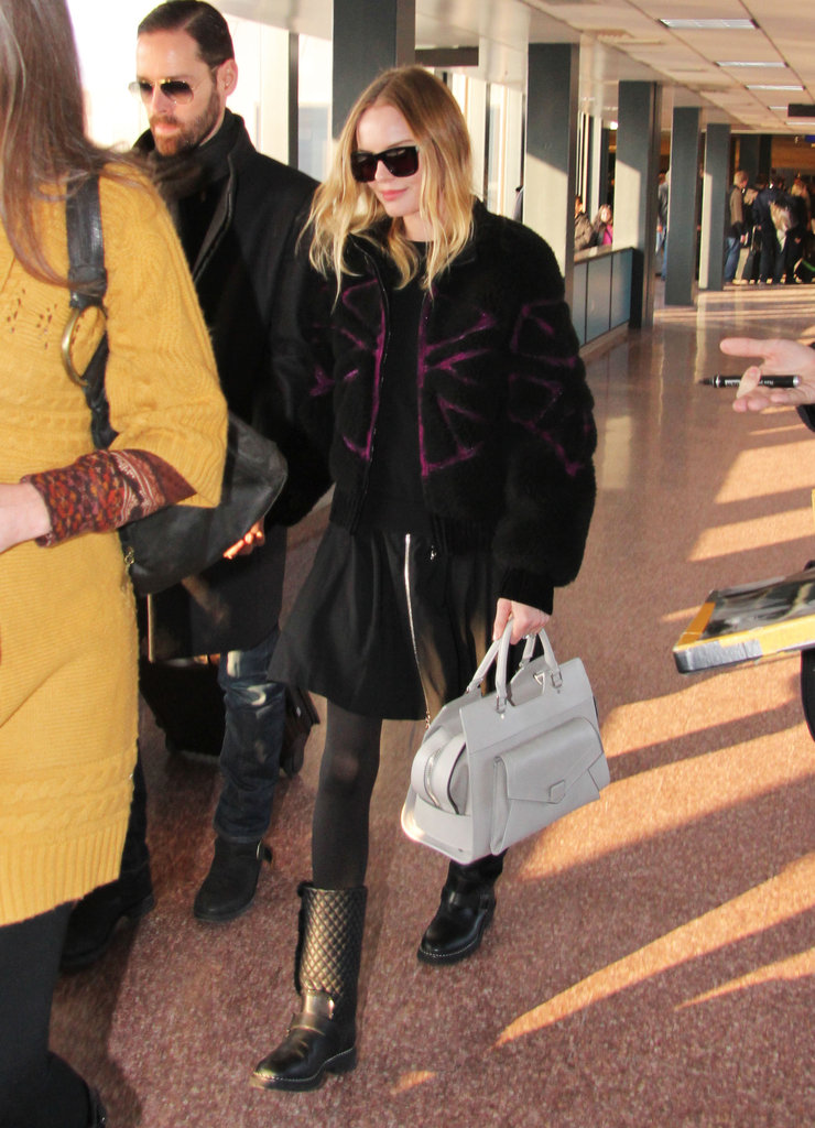 Kate Bosworth and Michael Polish landed in Salt Lake City.