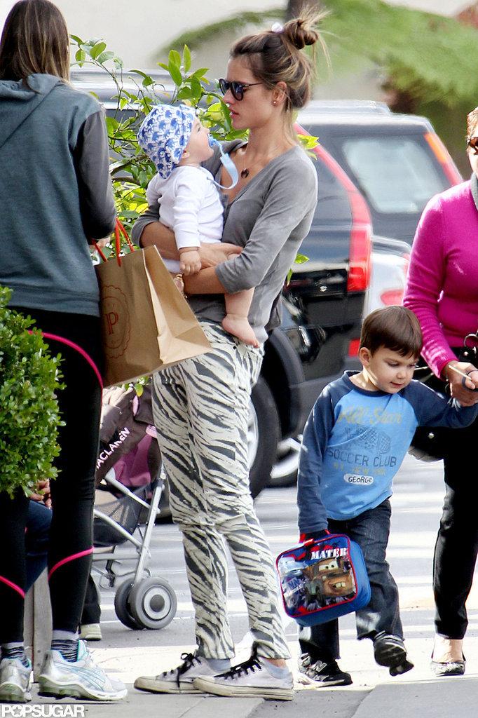 Alessandra Ambrosio Logs LA Family Time With Baby Noah