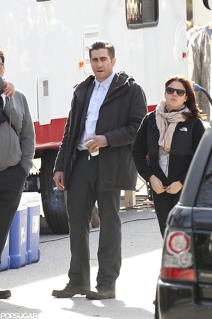 Jake Gyllenhaal spent time on the Prisoners set in Georgia.