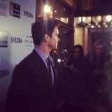 Matt Bomer talked to us about funding for the arts at The Creative Coalition's event.