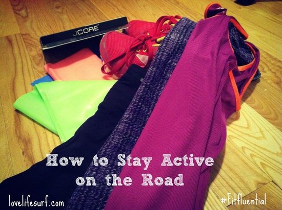 How to Stay Active on the Road