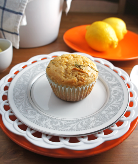 Lemon Rosemary Muffins