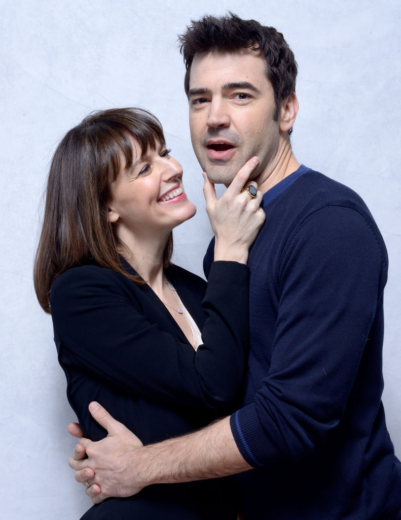 Touchy Feely co-stars Rosemarie DeWitt and Ron Livingston got a little, shall we say . . . touchy feely?