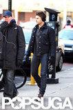 Zac Efron hit the NYC streets wearing earmuffs.