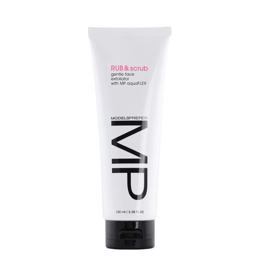 Models Prefer Rub & Scrub Gentle Face Exfoliator, $12.99