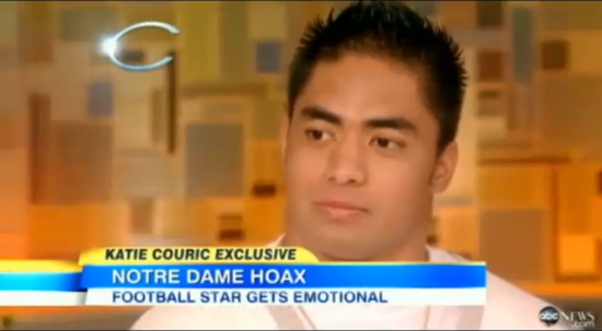 Manti Te'o Admits He Lied About His Hoax Girlfriend