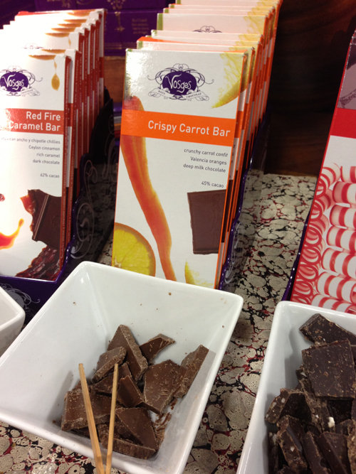 Vosges Crispy Carrot Bar