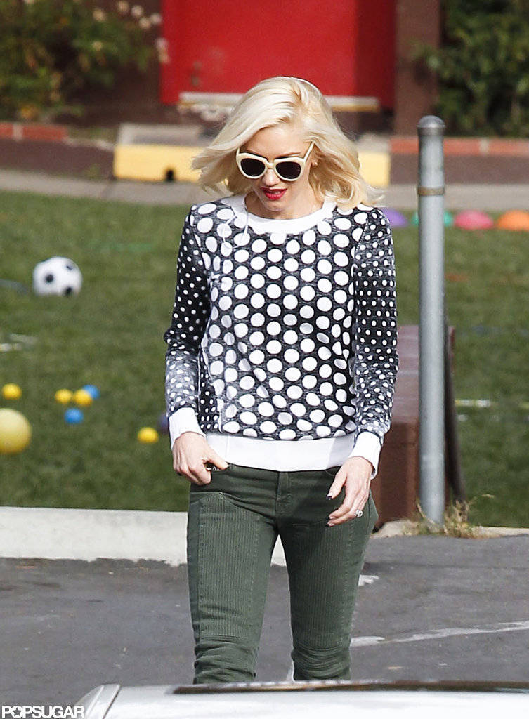Gwen Stefani Steps Out For a Stylish Day of Errands