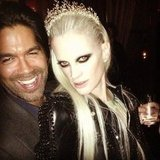 Brian Atwood hung out with Kristen McMenamy in Paris. Source: Instagram user brian_atwood