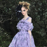 The Chanel Couture Spring 2013 show took place in a stunning, man-made forest.