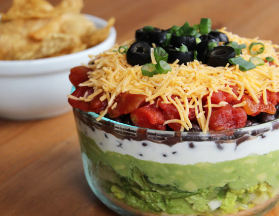 Healthy Seven-Layer Dip | POPSUGAR Fitness