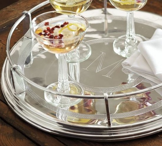 Serve fancy sips on this mirrored tray ($50) for a posh pregame. Not appropriate for tailgating.
