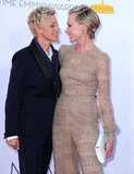 """She is so beautiful and so smart and so funny, and with her, I have that sense of 'I'm done now.' I'm settled. I know that part of my life is taken care of. I've got love. I've got someone who will be with me till the day I die."" — Ellen on wife Portia de Rossi"