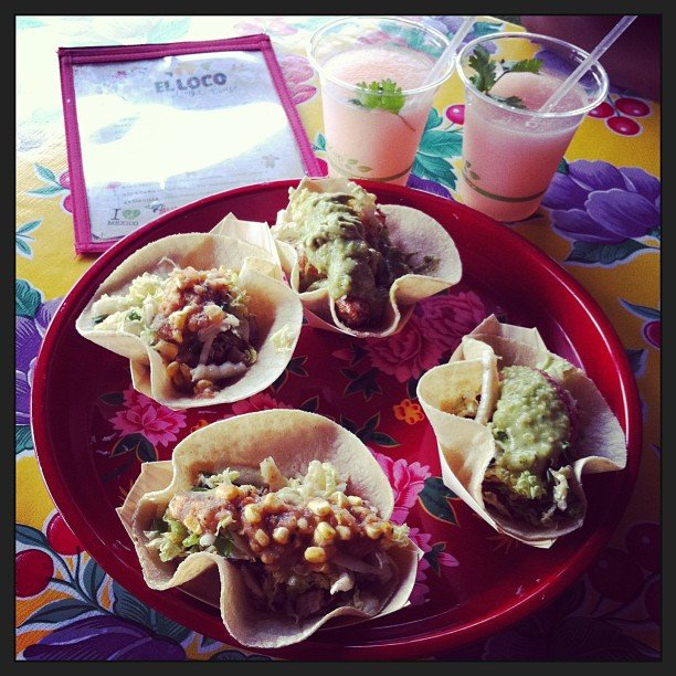 Frozen margaritas and tacos = our dream meal.