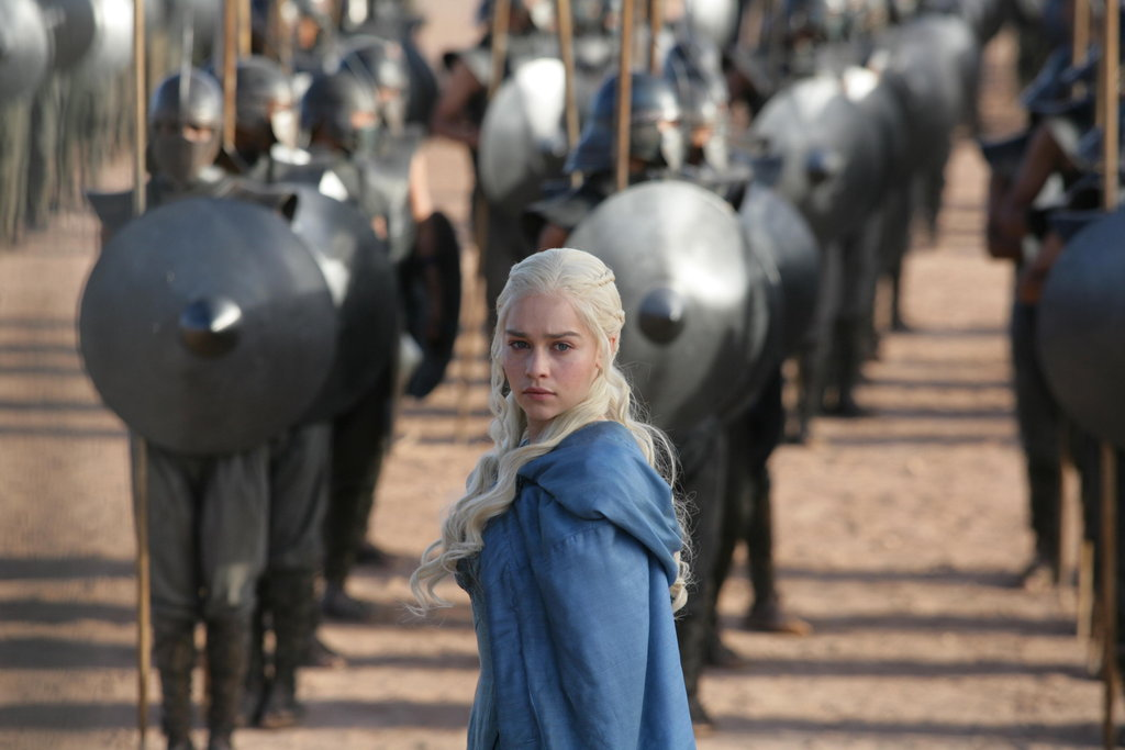 Emilia Clarke returns as Daenerys Targaryen in Game of Thrones season three.