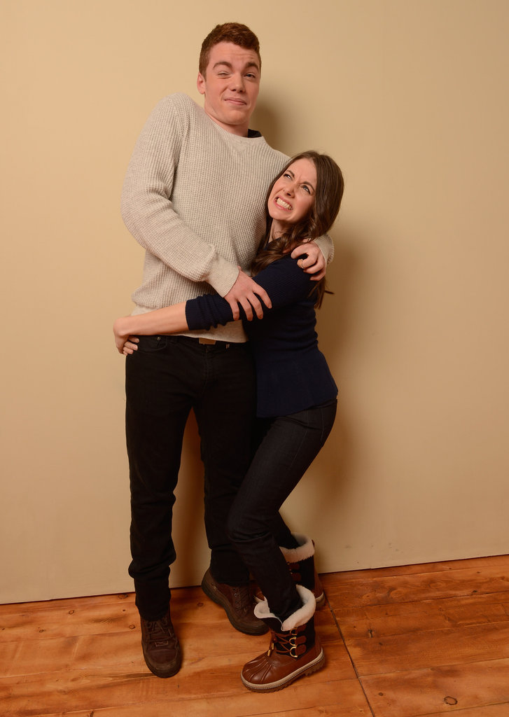 Toy's House actress Alison Brie practiced her lifting skills on costar Gabriel Basso.
