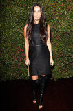 Demi Moore checked out Ferragamo's Spring runway collection in LA.