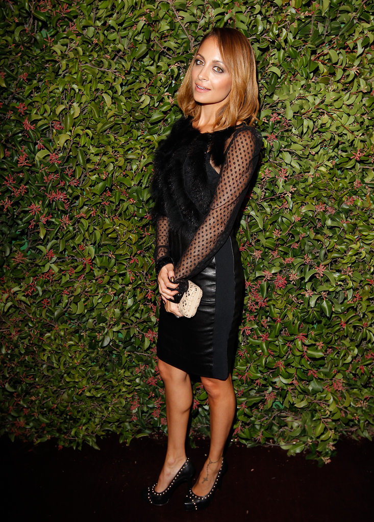 Ferragamo Hosts a High-Fashion Dinner For Nicole, Rachel, and More