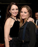 Revenge costars Madeleine Stowe and Margarita Levieva smiled for a photo.