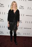 Monica Potter wore all black for the Elle Women in TV event.