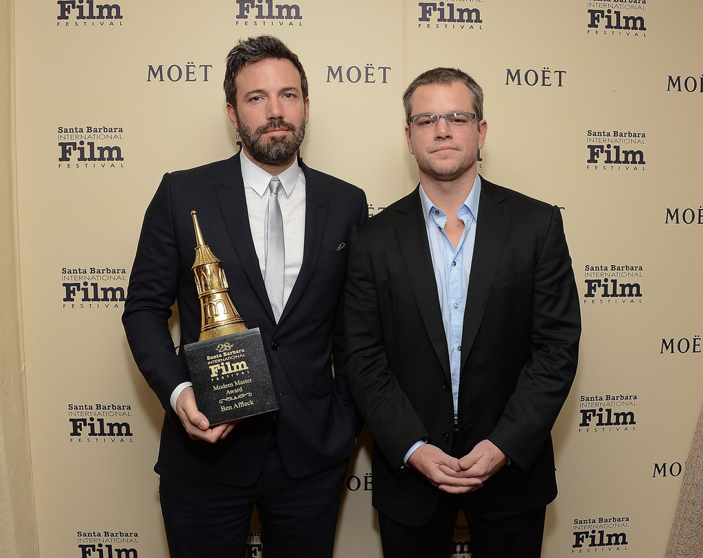 Matt Damon Helps Honor Ben Affleck as a Modern Master