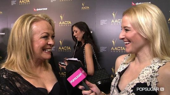 "Jacki Weaver on Bradley Cooper and the ""Brilliant"" Jennifer Lawrence"