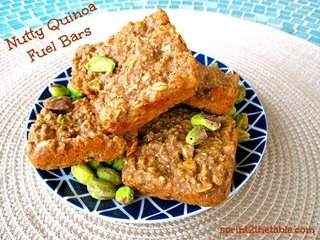 Nutty Quinoa Bars