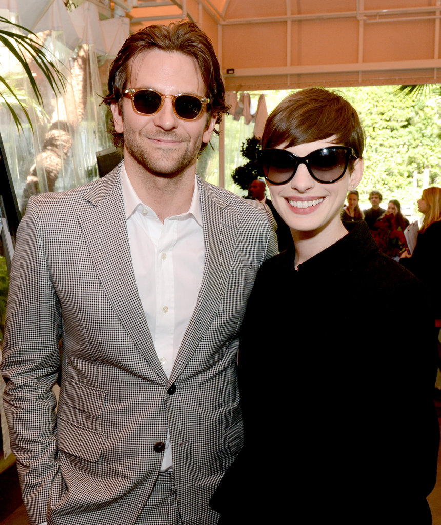 Bradley Cooper and Anne Hathaway were decked out in shades at January's AFI Awards.