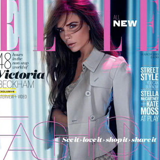 Victoria Beckham Covers Elle UK March 2013 (Video)