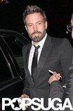 Ben Affleck signed autographs while out in LA.