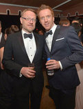 Homeland's Damian Lewis toasted the SAGs with Mad Men's Jared Harris.