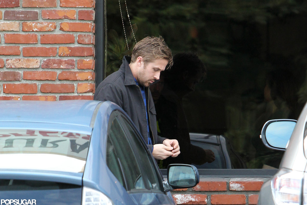Ryan Gosling was out in Los Feliz.