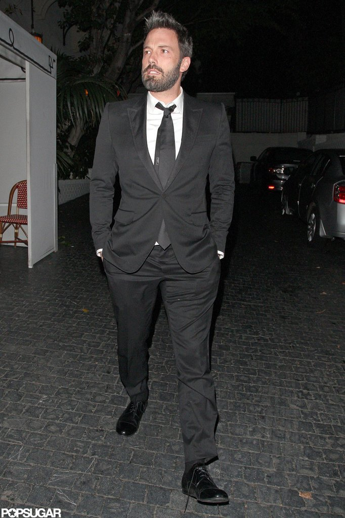 Ben Affleck was out in LA following the SAG Awards.